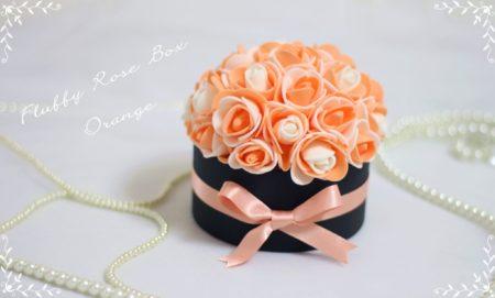 Fluffy Rose Box marble,Fluffy Rose Box認定講座,フラッフィーローズボックス,フラッフィーローズ滋賀,ふわふわローズboxレッスン滋賀,ローズbox滋賀,boxアレンジメント滋賀,マーブルローズ
