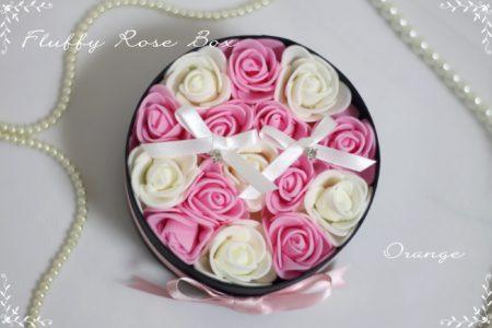 Fluffy Rose Box リングピロー♡