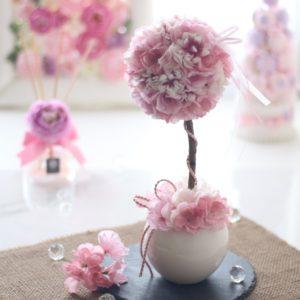 桜のトピアリーレッスン