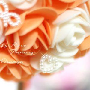 Fluffy Rose Topiary♡フリーレッスン♪,フラッフィーローズトピアリーレッスン滋賀守山,トピアリーレッスン滋賀守山,手作りインテリア雑貨滋賀守山,トピアリーフリーレッスン滋賀守山